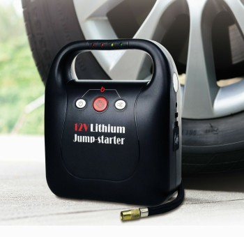汽车应急启动电源-带气泵